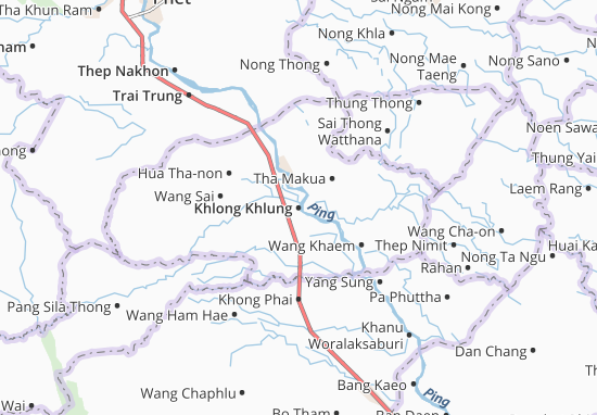 Mapas-Planos Khlong Khlung