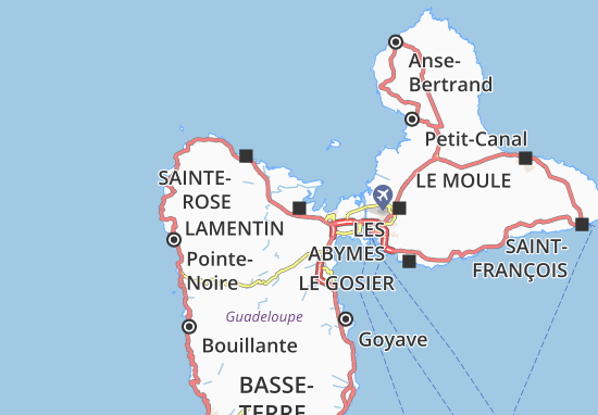 Lamentin Map