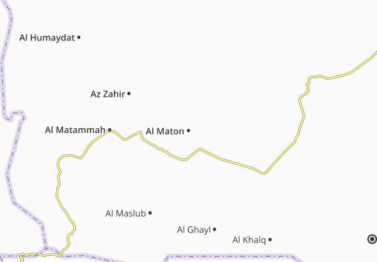 Carte-Plan Al Maton