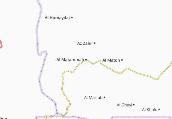 Mapas-Planos Al Matammah