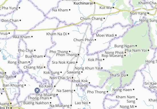 Carte-Plan Phon Thong