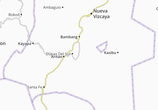 Dupax Del Norte Map