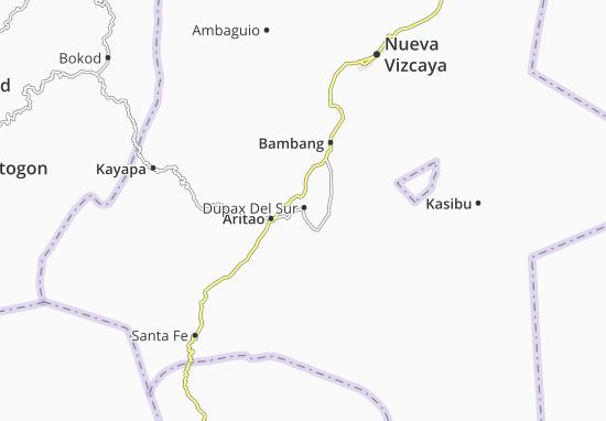 Mappe-Piantine Dupax Del Sur