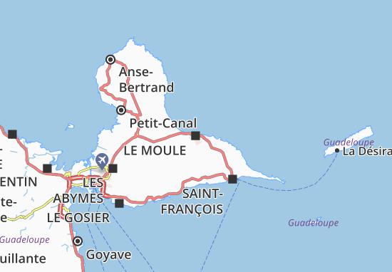 Le Moule Map