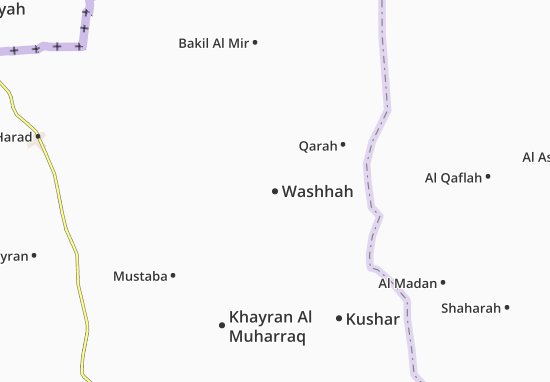Washhah Map