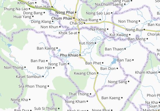 Carte-Plan Phu Khiao