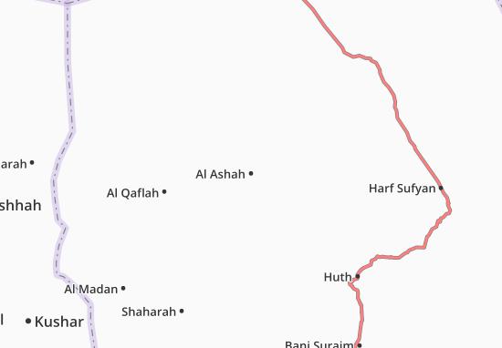 Carte-Plan Al Ashah