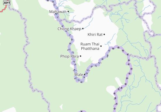 Carte-Plan Phop Phra