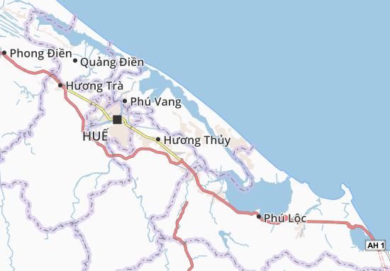 Phú Đa Map