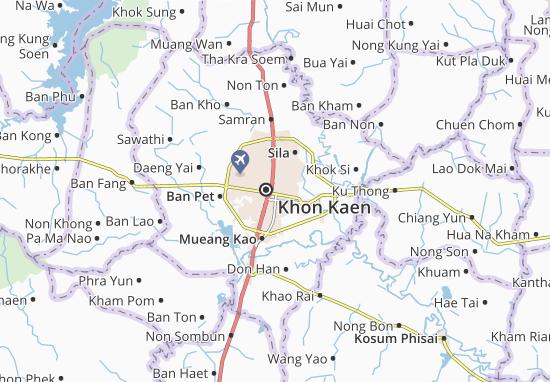 Mapas-Planos Khon Kaen