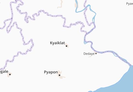 Kyaiklat Map
