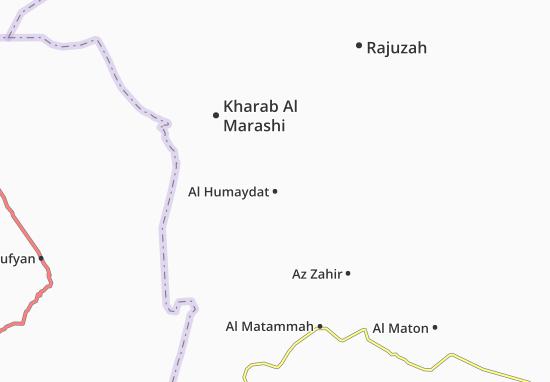 Carte-Plan Al Humaydat