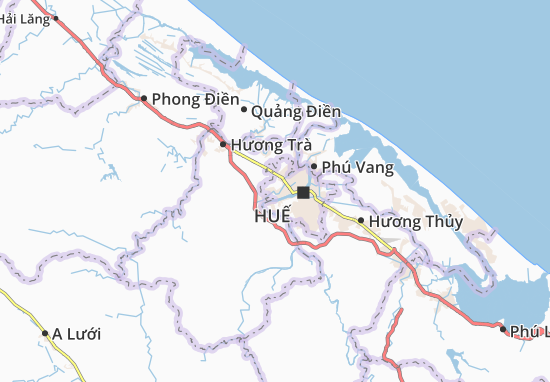 Mapas-Planos Hương Long