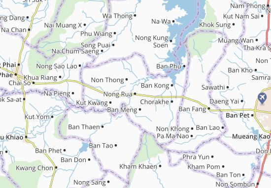 Mappe-Piantine Nong Rua