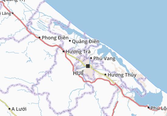 Carte-Plan Hương Sơ
