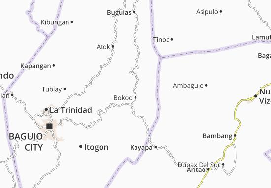 Bokod Map