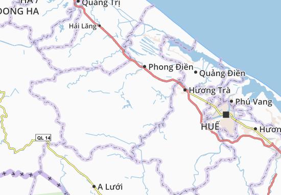Carte-Plan Phong Xuân