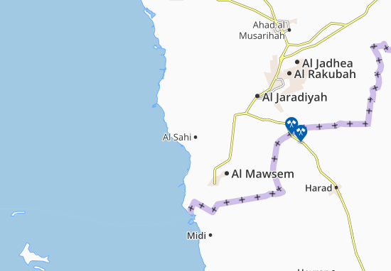Carte-Plan Al Sahi