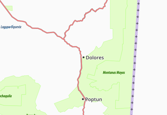 Carte-Plan Dolores