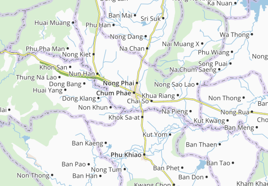 Mappe-Piantine Chum Phae