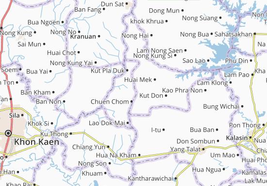 Mapas-Planos Chuen Chom