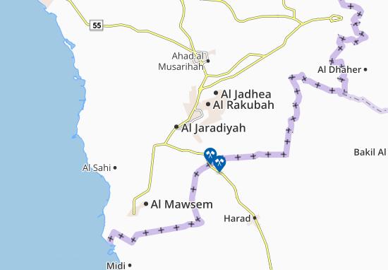 Al Najamiah Map