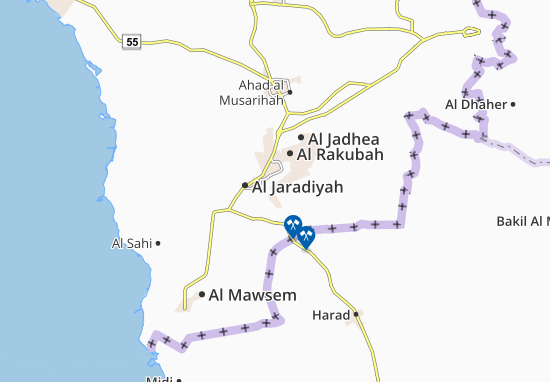 Mappe-Piantine Al Turayshah