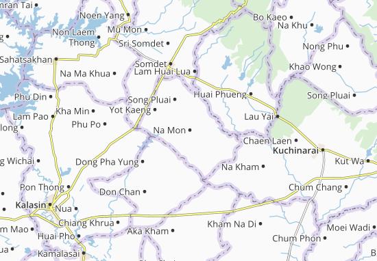 Kaart Plattegrond Na Mon