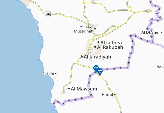 Al Jaradiyah Map