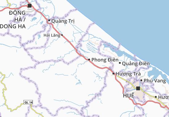 Carte-Plan Phong Thu