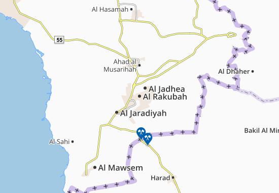 Carte-Plan Al Rakubah