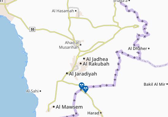 Carte-Plan Al Jadhea
