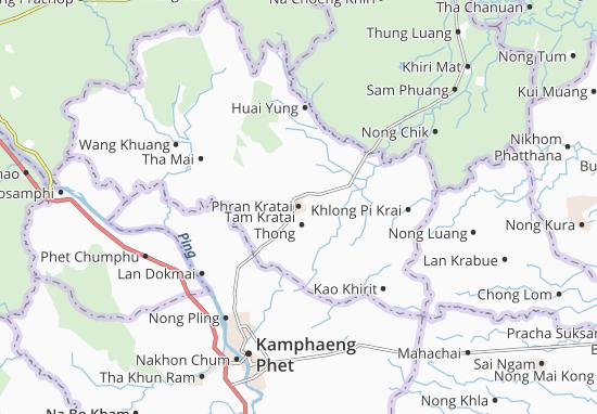 Phran Kratai Map