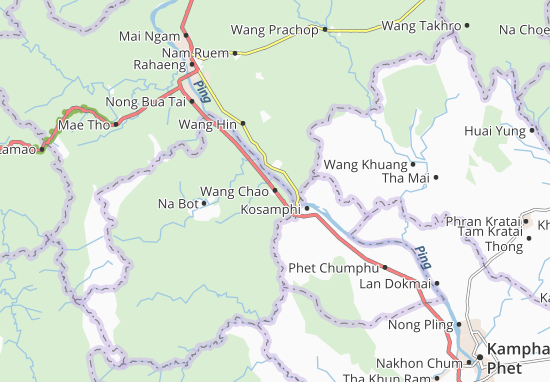 Wang Chao Map