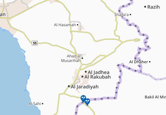 Carte-Plan Ahad al Musarihah