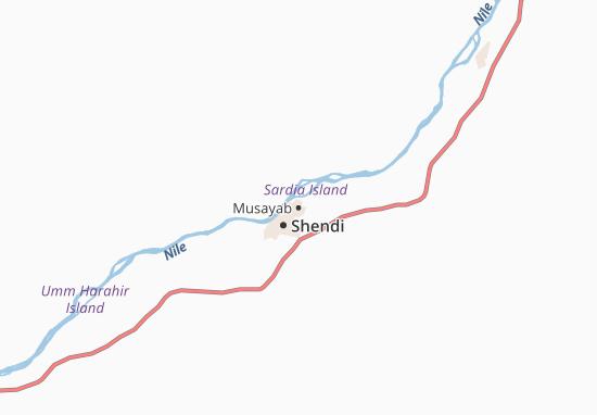 Carte-Plan Musayab