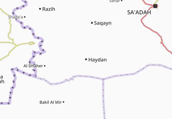 Carte-Plan Haydan