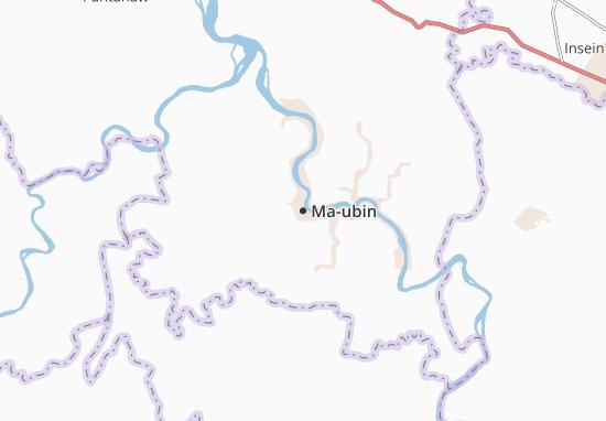 Mapa Plano Ma-ubin