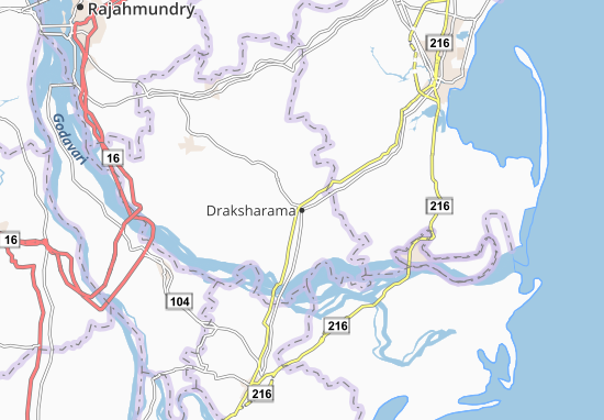 Draksharama Map