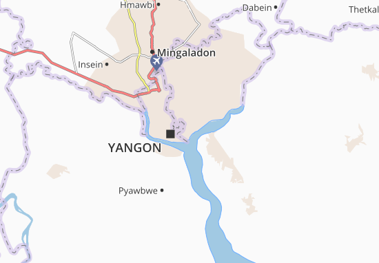 Thingangyun Map