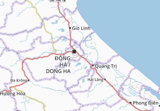 Mapas-Planos Đông Lương