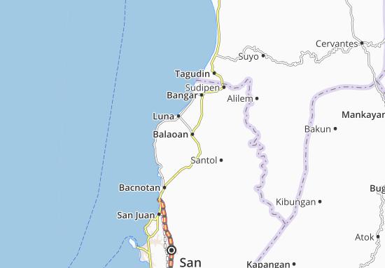 Mappe-Piantine Balaoan