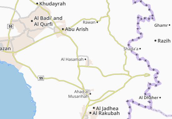 Carte-Plan Al Hasamah