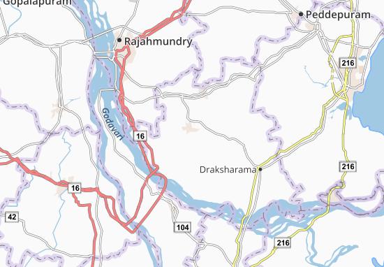 Mandapeta Map