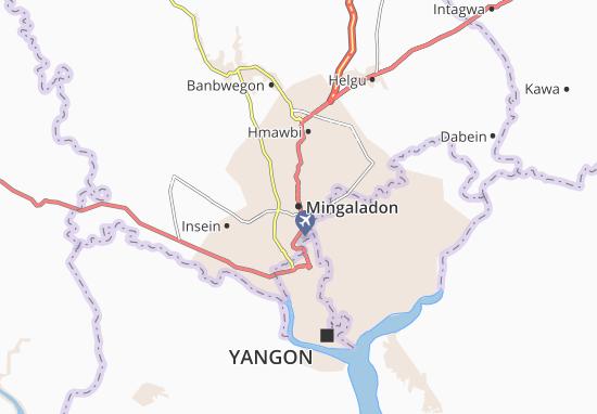 Mapa Plano Mingaladon