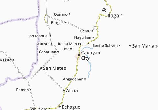 Cauayan City Map