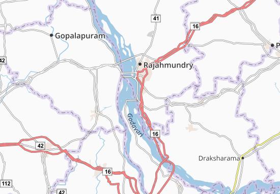 Mappe-Piantine Dowlaiswaram