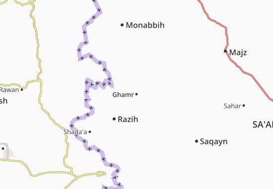 Kaart Plattegrond Ghamr
