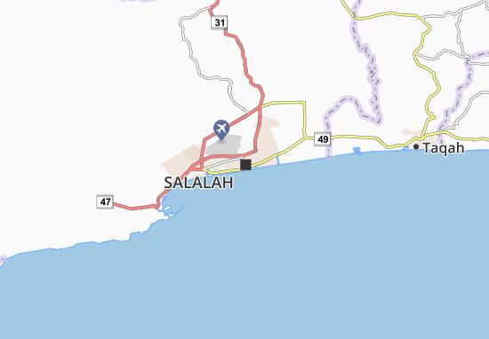 Carte-Plan Al Balid