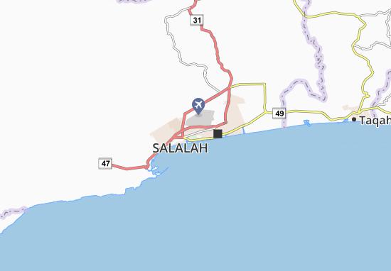 Mappe-Piantine Salalah West